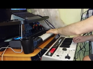 ReznikSAR Земляне - Трава у дома (A075 String Machines) Korg MicroX