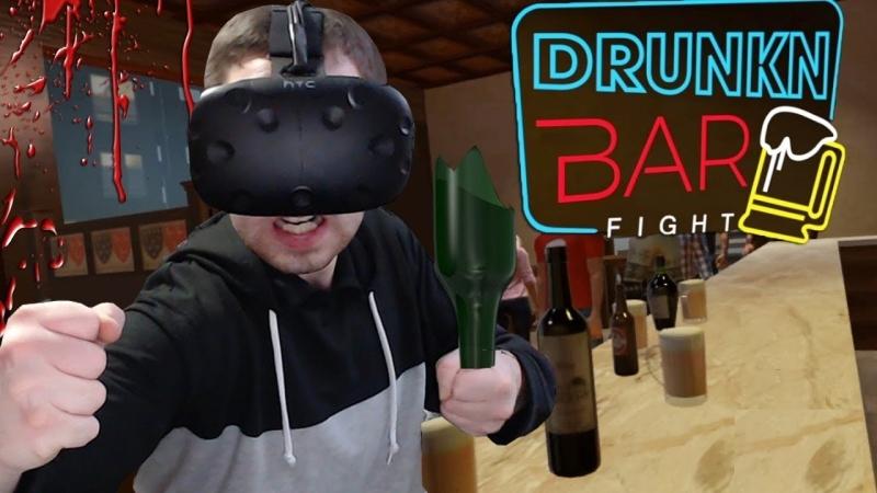 Михакер DRUNKN BAR FIGHT - ЭПИЧНАЯ ДРАКА В БАРЕ (VR)