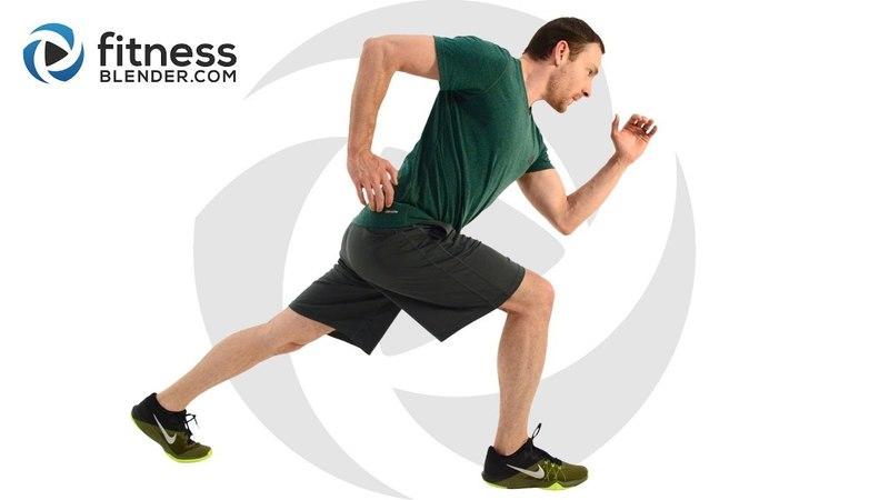 FitnessBlender - 1000 Calorie Workout HIIT Cardio, Total Body Strength, Core Workout | Тренировка на 1000 калорий