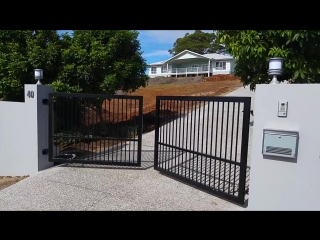 Custom Automatic Gate Install Terranora, NSW.mp4