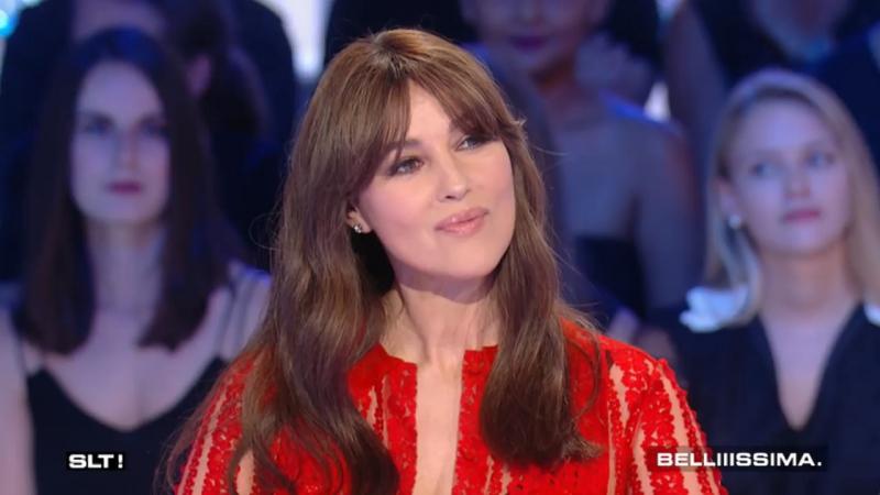 Monica Bellucci Le grand invité dhonneur -- Salut les terriens - 24-06-2017