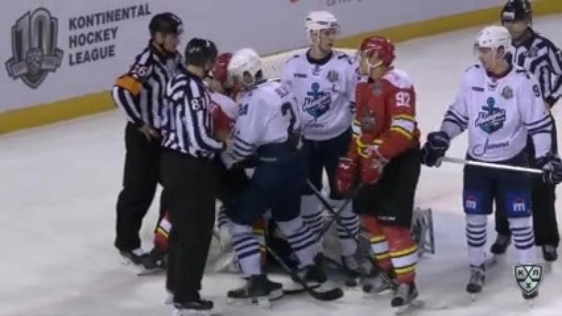 Куньлунь 1-1 Адмирал. Обзор матча (Хоккей. КХЛ) 21.10.2017
