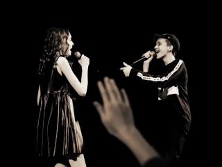 Арина Данилова и Миша Смирнов - фото из СПб 02.01.2018