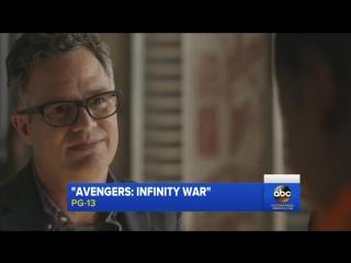 Новый отрывок фильма Мстители: Война Бесконечности