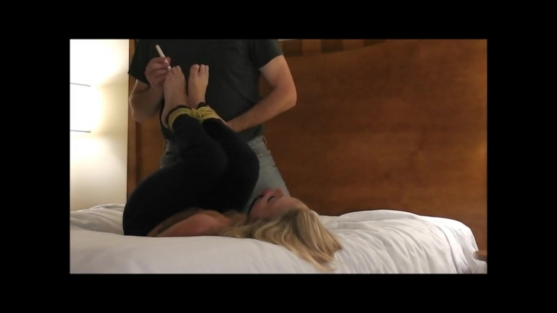Dre Hazel Ball Gagged and Tickled up