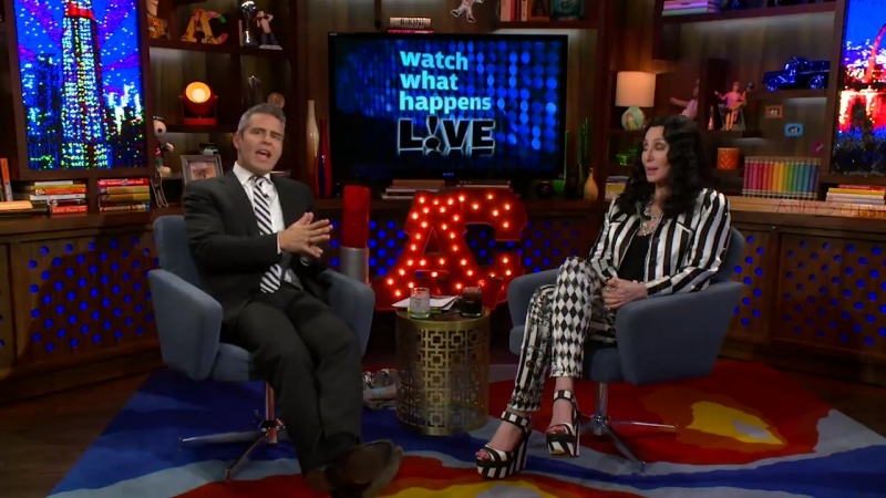Cher Dishes On Her Iconic Career Craziest Co-Stars To Anderson Cooper
