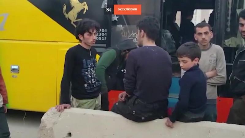 Боевики Ахрар аш Шам вышли из Восточной Гуты видео Daily Storm