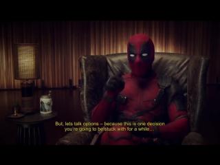 Deadpool 2 brazil comic-con teaser trailer #3 (2018) ryan reynolds marvel superh