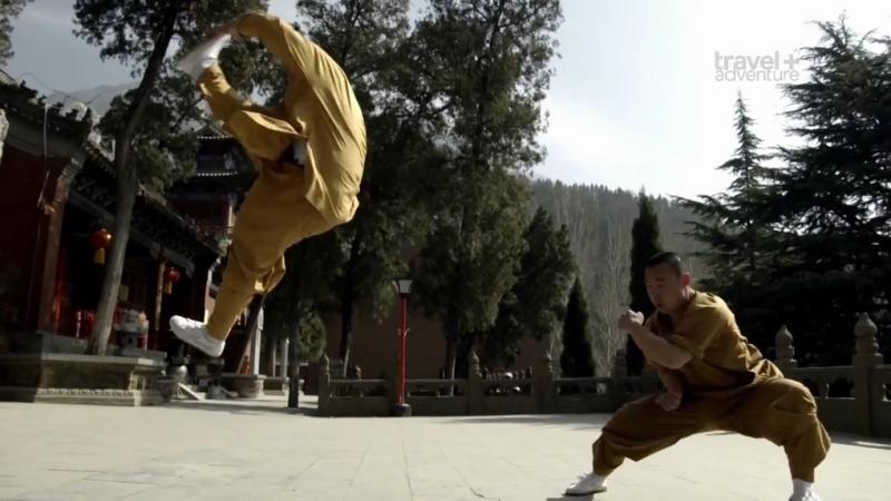 BBC Боевое крещение коренных народов 01 Шаолинь Кунг фу Китай 2017 Боевые искусства выживание спорт