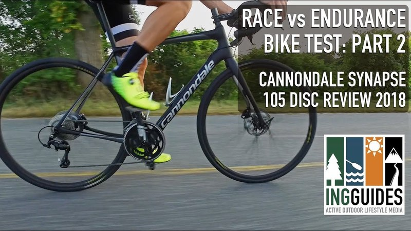 2018 Cannondale Synapse Test Race vs. Endurance Part 2