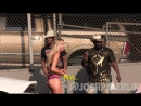 Lamborghini Blowing Girls Clothes Off Prank
