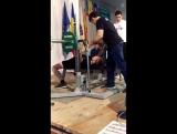 Шарап Виктор поднял 40 кг собственный вес 47 Стаж три месяца(с. Красногорка СК ТИТАН) Дебют MDFPF