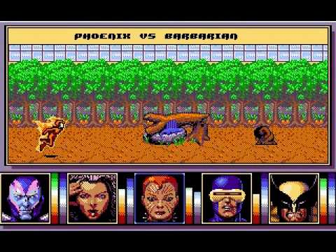DOS Game: X-Men 2 - The Fall of the Mutants