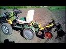 Переоборудование тяжелого мотоблока ZUBR Q-78 в мини-трактор