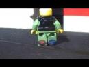мультик о лего домике и человечке с роботом!