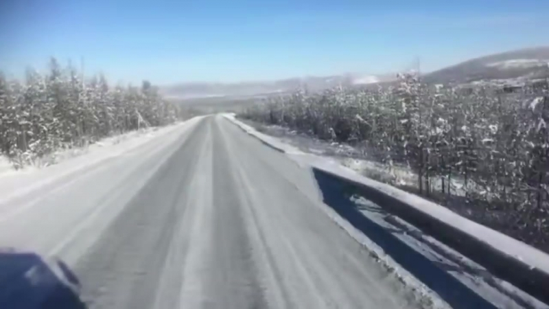 Северный дальнобой. Зимник