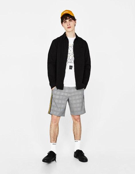 Куртка-рубашка с карманом