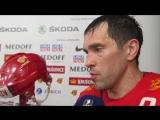 Павел Дацюк о матче против сборной Швеции