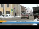 11.01.2018. На Волжской набережной устанавливают лежачих полицейских.