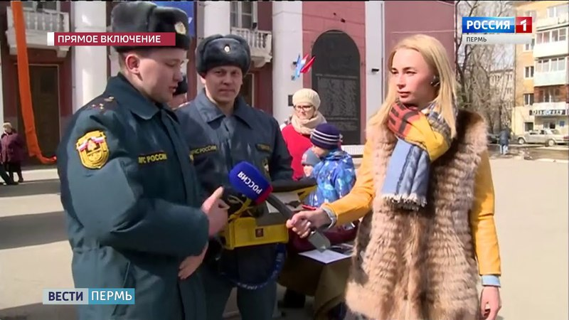Роботы и беспилотники что показали пермские пожарные