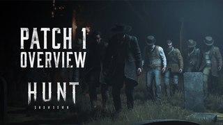 Developer Update | Hunt: Showdown Patch 1 - Overview