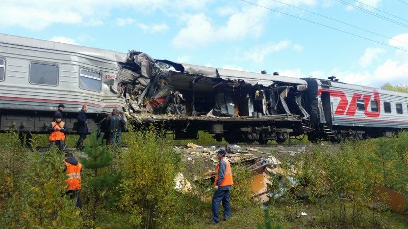 Житель Томска пострадал в столкновении поезда с грузовиком в ХМАО