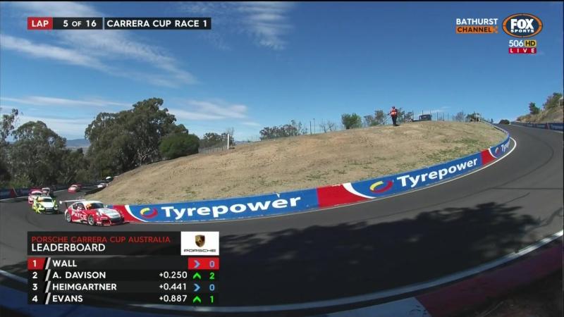 Porsche Carrera Cup Australia - 2017 - Round 7 - Bathurst - Race 1