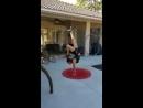 Крутая гимнастка