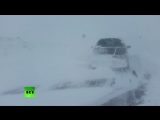 Мощный циклон нарушил электроснабжение на Сахалине