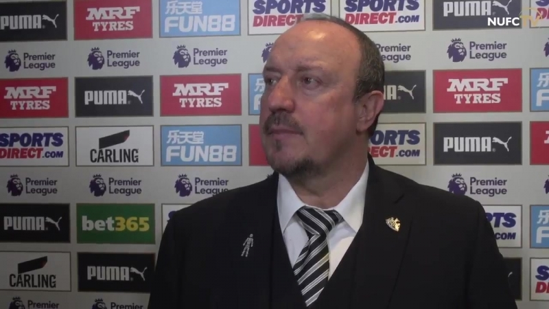 RAFA'S REACTION Rafa Benítez spoke to NUFC TV after watching his side record a convincing 3 0 victory over @SouthamptonFC at St