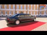На свою инаугурацию Путин приехал на новом президентском лимузине