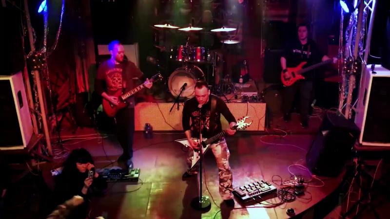 Ice Peak Hate - Hardwired (Metallica Cover) Live BRC 20.01.18