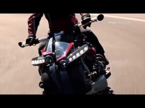 La moto más potente y loca del mundo: Lazareth - LM 847 (v8 4,7 l maserati 470 HP)