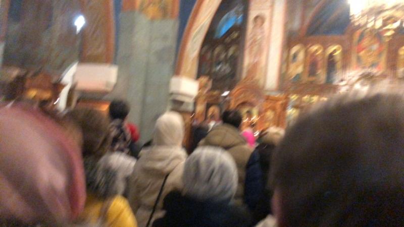 Полунощница с каноном Великой Субботы. Свято-Вознесенский кафедральный собор