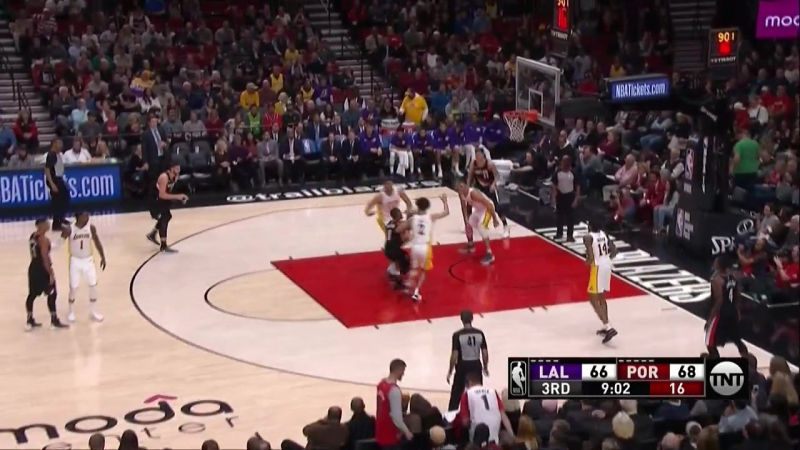 NBA 2017-2018 / RS / 02.11.2017 / Los Angeles Lakers vs Portland Trail Blazers EN
