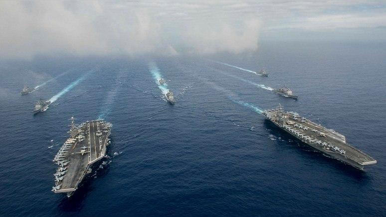 «Американские моряки у корейских берегов подумывают о самоубийстве»