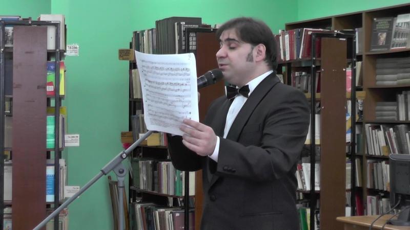 А.Кротов. Песня Марио из мюзикла Римские каникулы
