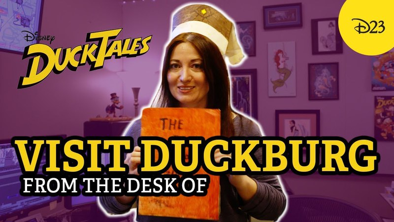 This DuckTales-Inspired Desk is Straight out of Duckburg! | From the Desk of