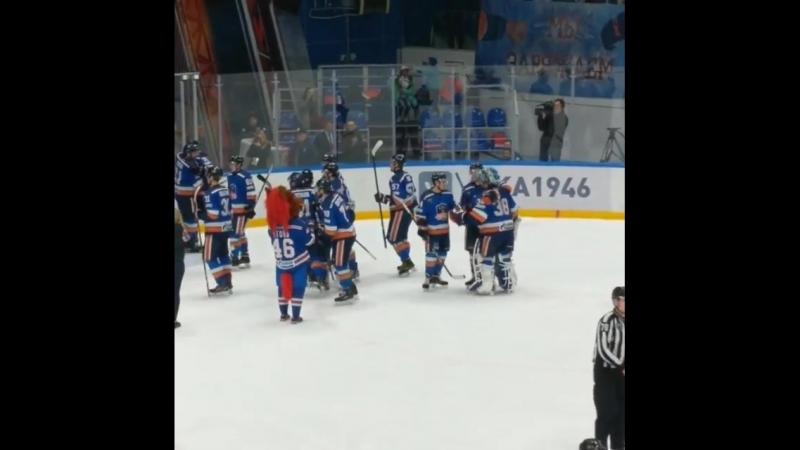 СКА-Нева. Победный гол в ОТ