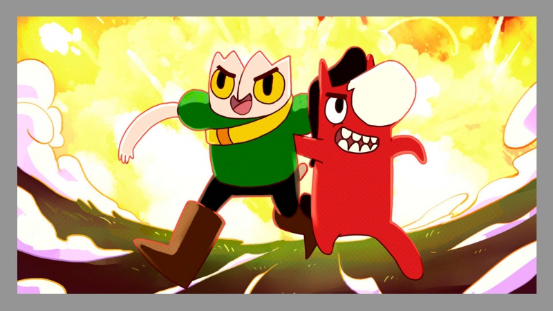 [Штаб Коммандера] Китайский Adventure Time и Amazing World of Gumbal