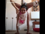 Watching this contortionist... (via In The Know)