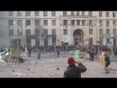 Киев 20 января 2014 На баррикадах Грушевского
