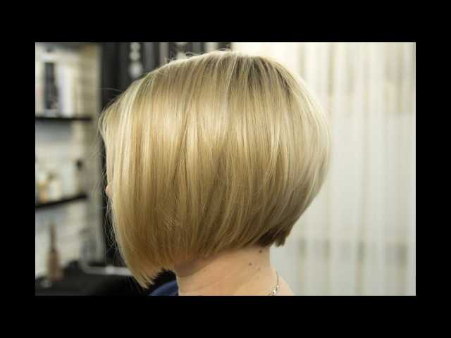 Градуированный Боб. Короткая женская стрижка 2018 / Bob / Short women Haircut. Fashion Haircut 2018