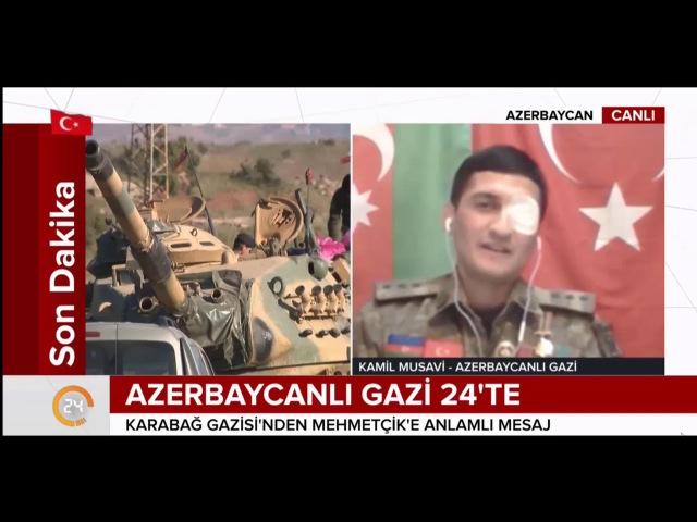 Azerbaycanlı Gazi Kamil Musavi CANLI YAYINDA KONUŞTU - Afrin Harekatı İçin Özel Mesaj - Azərbaycan