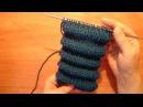 Вязание спицами. Узор из складок. pintucks spokes  Эффект Клоке. шарпей / защипы