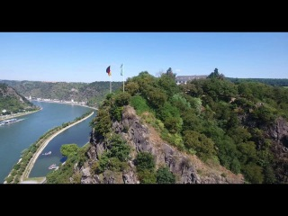 HD Loreley am Rhein - Lorelei on the River Rhine