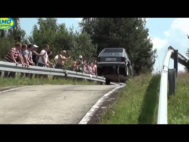 Машины на куски Аварии на гонках ралли