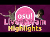 osu! Livestream Highlights | Rafis Takes #1! HappyStick God mode! Azer 2251pp Play!?