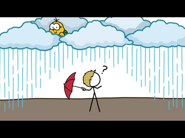 Почему большая часть дождей не доходит до Земли | Озвучка DeeAFilm