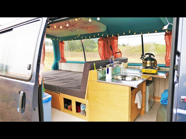 6 Months in 10 Minutes - Tubi Campervan Build Timelapse